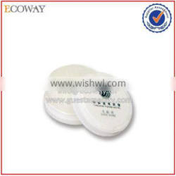disposable airline cheap shoe sponge white round hotel shoe cleaner