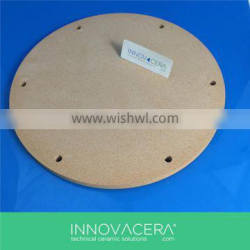 Yellow Cordierite Ceramic Disc For Kiln Furniture/ INNOVACERA