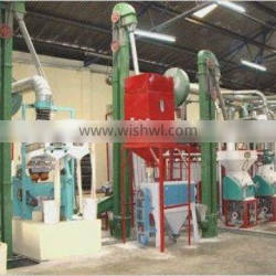 Corn mill factory 20t per day corn roller mill, maize grinding for sale big factory