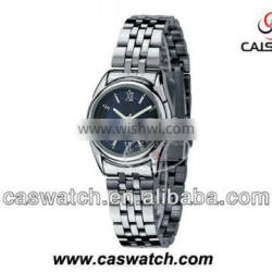 Hight quality classic stainless steel watch lady