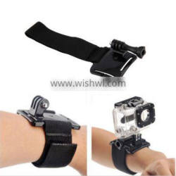 Diving Housing Adjustable Case Wrist Strap Band Mount for Gopros Heros 4 3+ 3 2 1