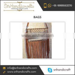 Fancy Bohomein Bag with Fringes at Reasonable Price