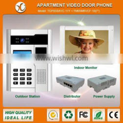 Hot selling multi apartments video door phone system