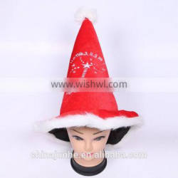 New arrival cheap OEM design christmas hat for promotional