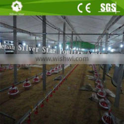 Ground broiler poultry farm equipment