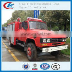 high performance 4x2 140hp 5cbm china water fire truck for sale