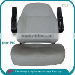 Comfortable wheelchair seat with armrest