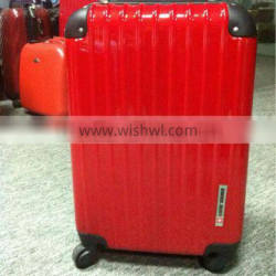 2012 wholesale abs / polycarbonate luggage cases