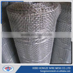 Hot Dipped Galvanized Crimped Square Wire Mesh Manufacture ISO9001:2000