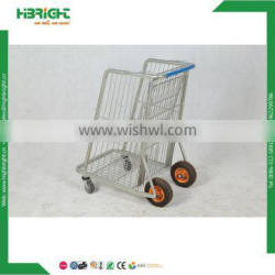 metal material handling warehouse cart
