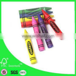 4pcs colored crayon set in opp bag China supplier