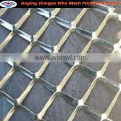 diamond wire mesh raised expanded metal For Trailer (factory )