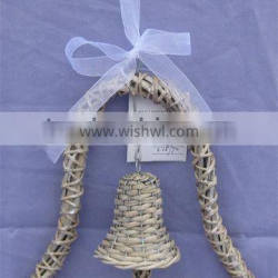 antique grey willow bell decoration