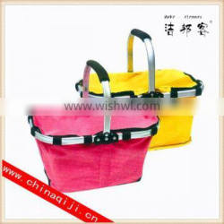 High quality cute shopping basket wholesale