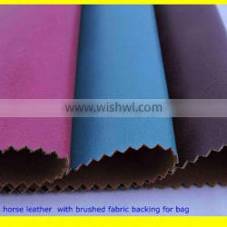 2015 new products in China crazy horse leather for bag Quality Choice