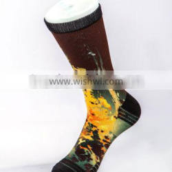 360 all over digital printing sublimation socks