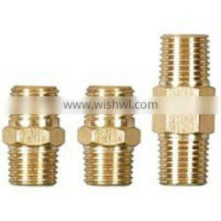 threaded insert brass connectors for pipe