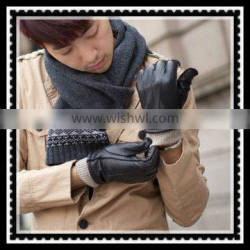 mens cheap car driving glove made of sheepskin leather