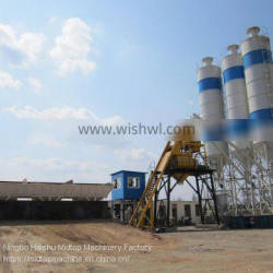 China 50m³ Stationary HZS50 Concrete Batching Plant for hot sale