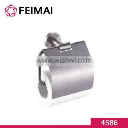 Stainless Steel 304 Hotel Style Toilet Paper Holder With Cover