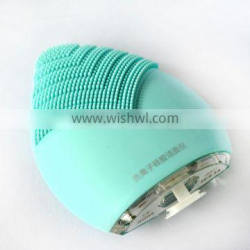 Soft color deep cleaning facial brush round cleaning brush