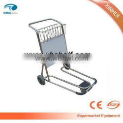 Durable luggage trolley airport hand luggage trolley luggage carrier trolley