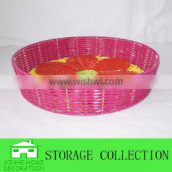 cheap round plastic candy tray