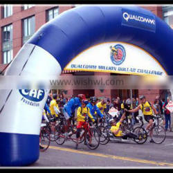 Inflatable racing archway bike racing arch inflatable arch