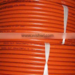High pressure oxygen rubber air hose different color