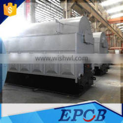 Easy Installed 1Ton Industrial Wood Chip Fire Steam Boiler