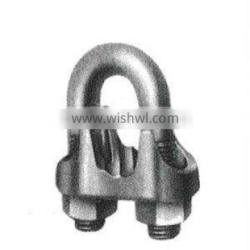 China B.S 462 Hot Dip Galv Malleable Wire Rope Clips