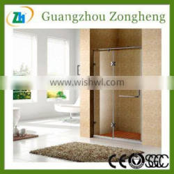 Simple and Clear Design glass door for shower enclosures/cabin/bathroom