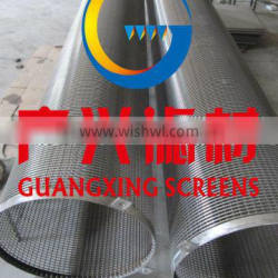manufacture water well wedge wire screen pipe