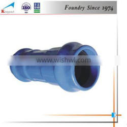 Custom best product high quality industry cast ductile iron mechanical plain end wall pipe