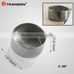 Transon307 Single Medium Size Stainless Steel Metal Painting Palette Cups/Dipper for Artist's Painting