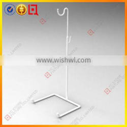 Simple white color bag hanging stand