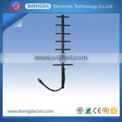 Yagi Antenna 890-960mhz GSM CDMA Outdoor black water proof with RG58A/U cable