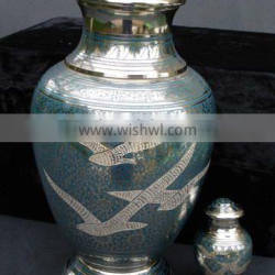 Arcadia Going Home Brass Cremation Urns