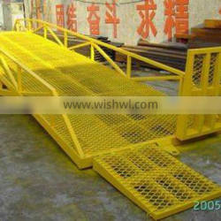 mobile loading ramp for trailers