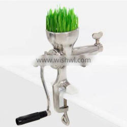 New Stainless Steel Wheat Grass/Hand Juicer/Manual Wheatgrass Extractor