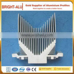 Different shapes irregular shape aluminum alloy profile for aluminum scaffold parts industrial use