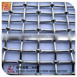 stainless steel crimped wire mesh for screen (china factory and exporting)
