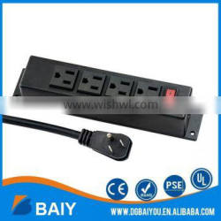 High quality hot sale 3 meter plug wire conference table power outlets plugs