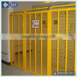 High strength and light weight FRP fence/Designable fiberglass fence/colorful GRP fence