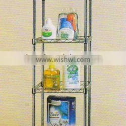 square wire shelf/display stand/mesh shelving
