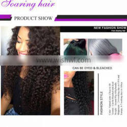 New Products On China Market kinky curly human hair