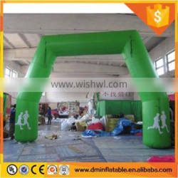 2017 Advertising inflatable arch gate finish line entrance arch