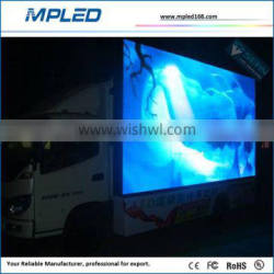 Make any shape as you like led sign on truck with Nova card control system