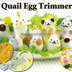 bento tools japanese food kitchenware quail egg box boiler cooker cutter quail egg trimmer food cutter