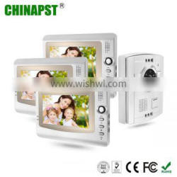 """2016 Cheapest 7"""" TFT LCD Indoor Wired Video Door Phone Intercom System PST-VD906C"""